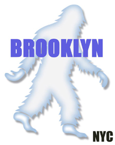 Brooklyn NYC Manhattan Yeti Sasquatch Bigfoot